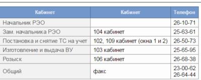 график ГИБДД