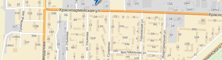 Автошкола Лидер на карте